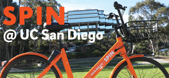 Spin share at UC San Diego