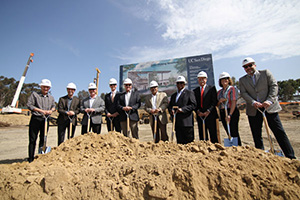 Groundbreaking Held for Osler Parking Structure
